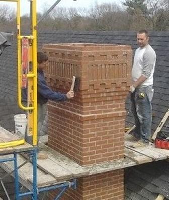 Fireplace Chimney Construction